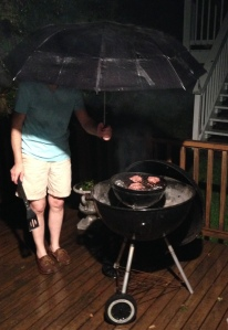 Grilling in the Rain 2