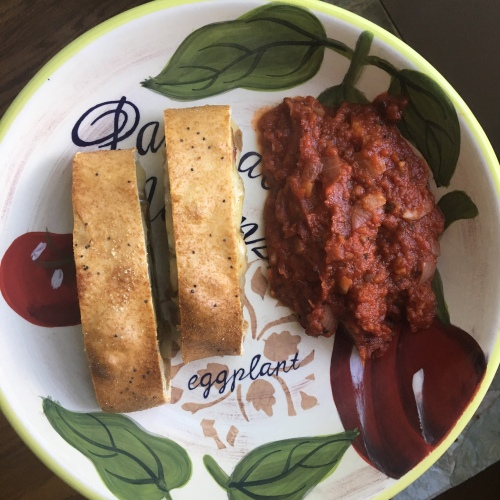 Lissa's Accidental Tomato Sauce